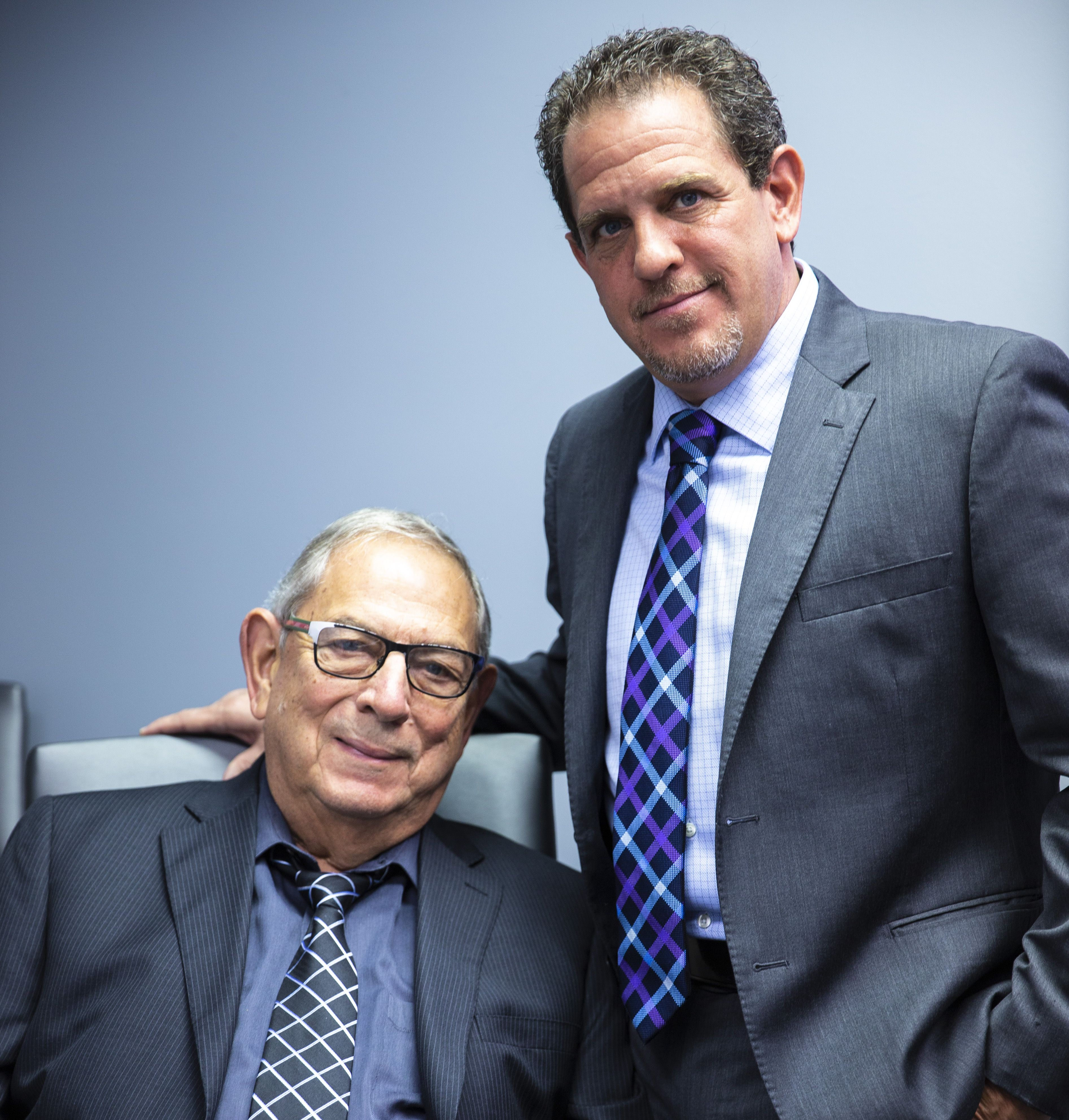 Attorneys Luis and Todd Stabinski